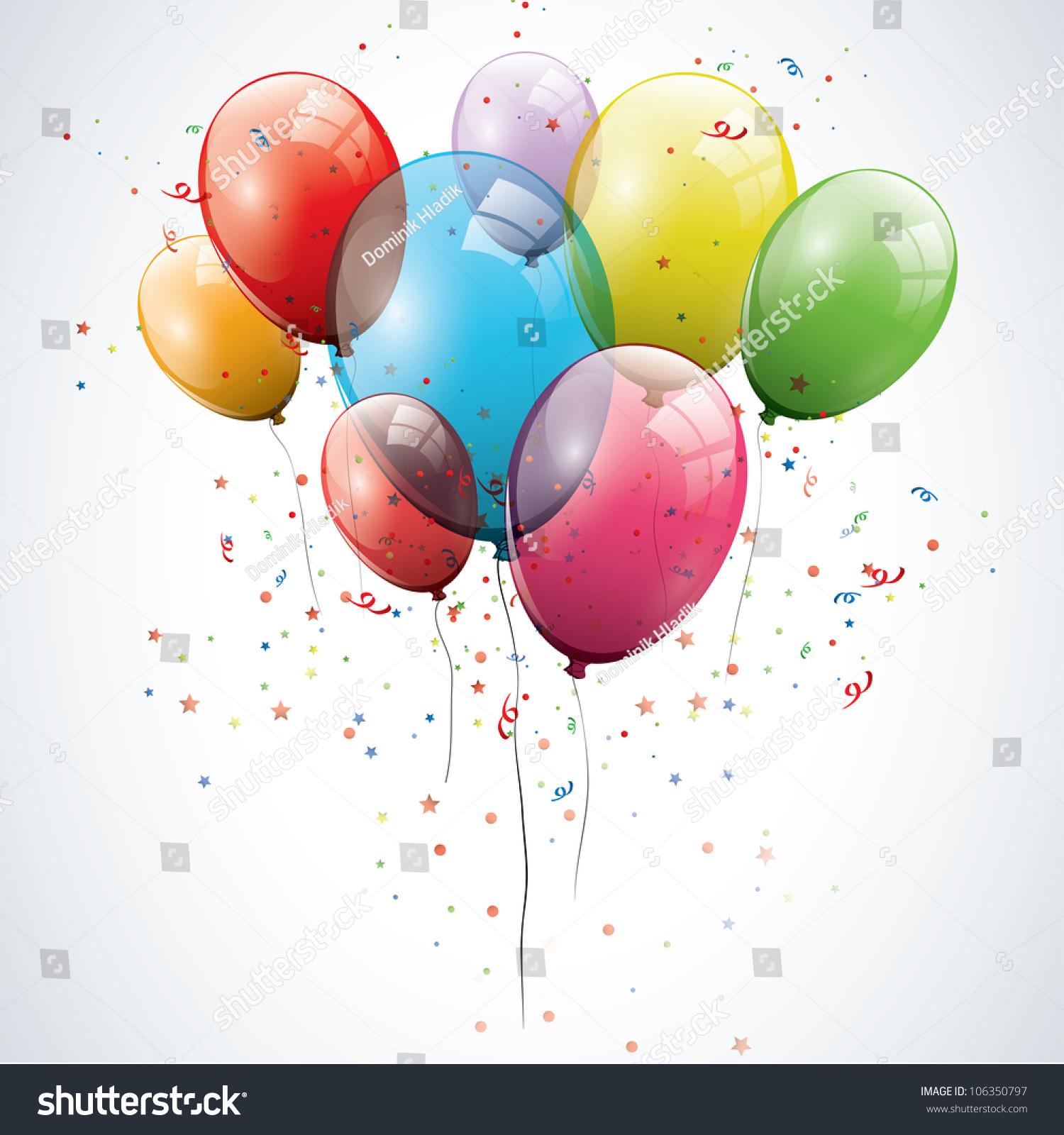 透明的生日气球-背景/素材,物体-海洛创意(hellorf)-.图片
