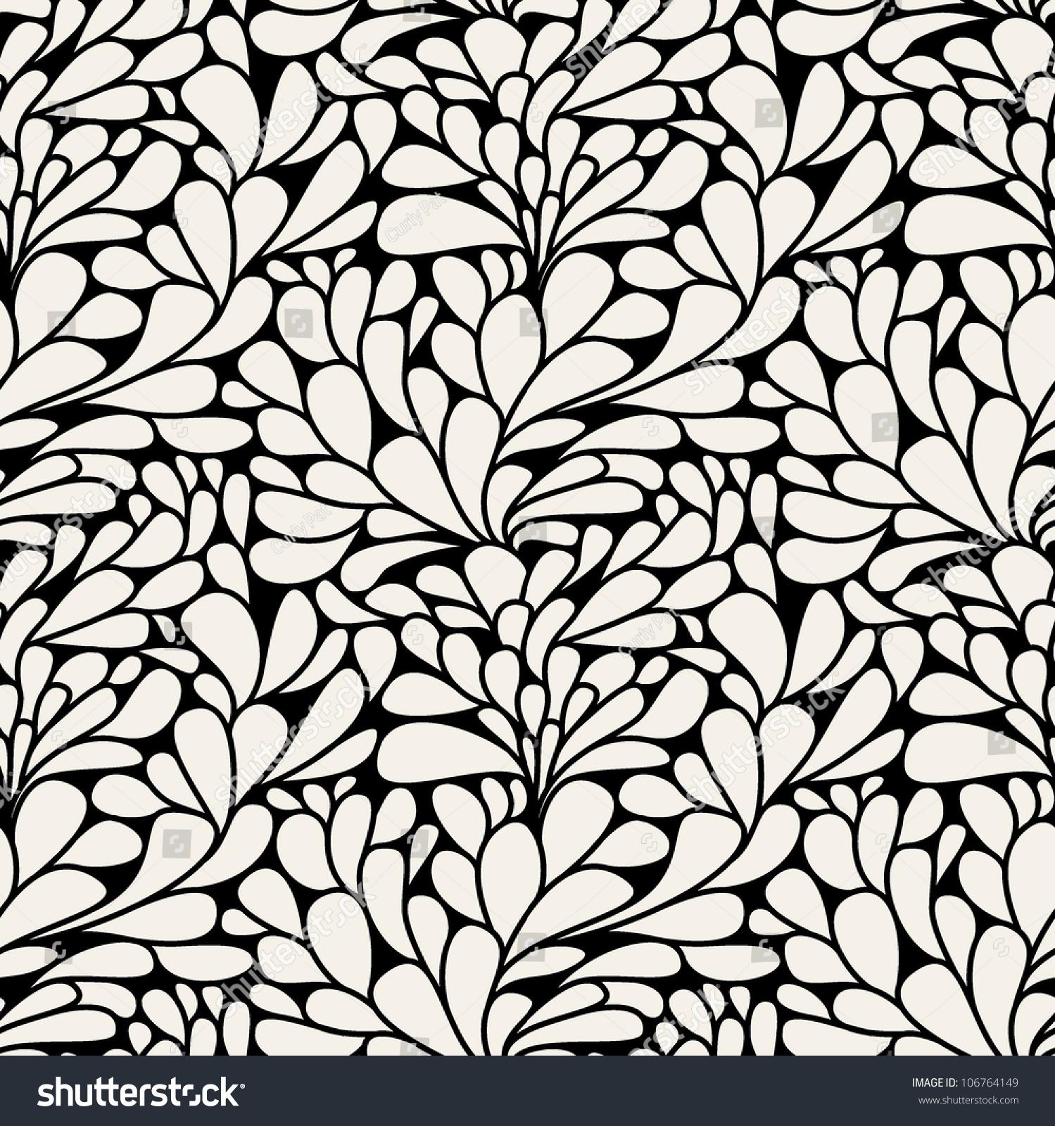 现代花卉纹理.没完没了的抽象背景