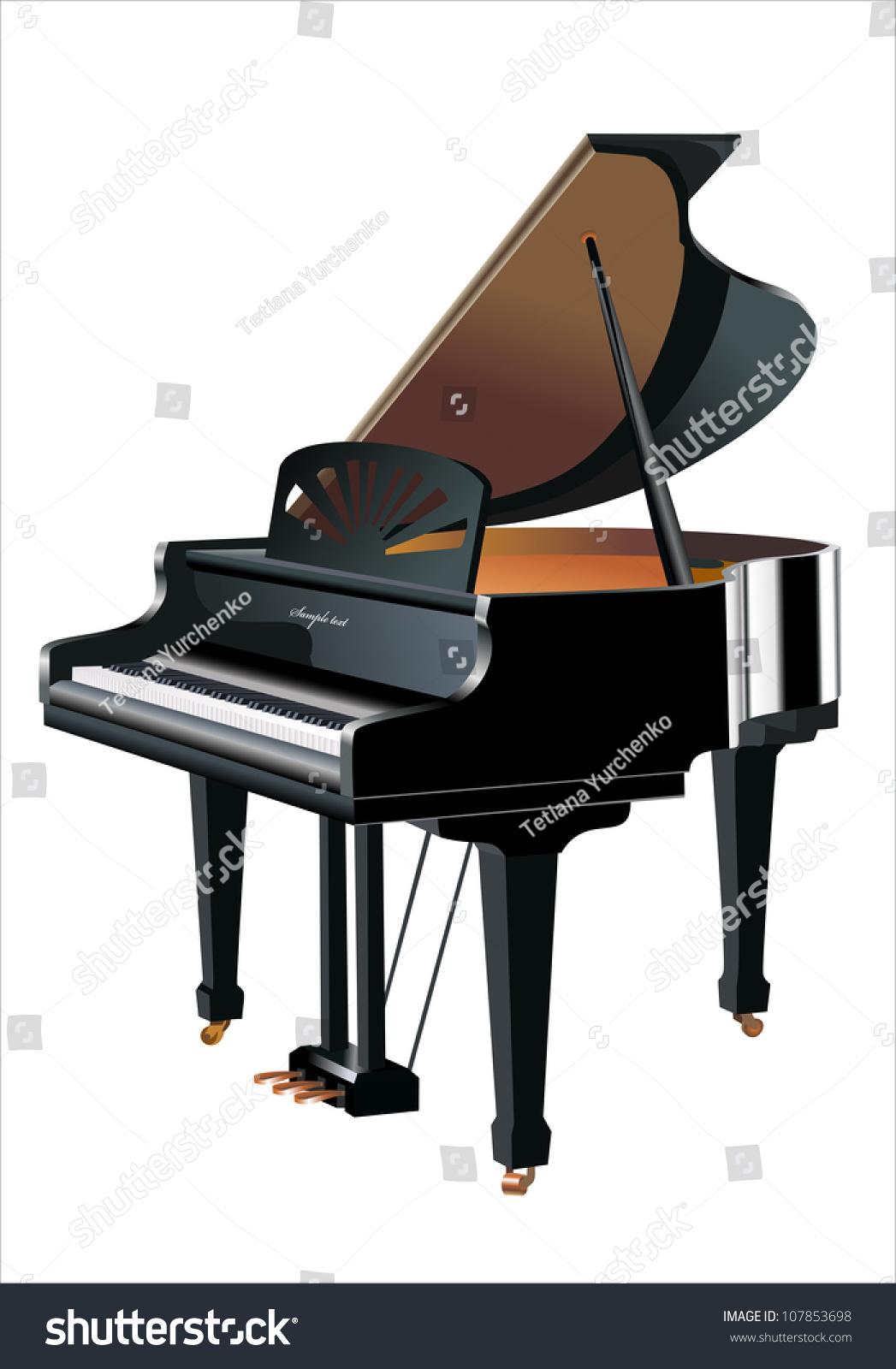 钢琴-物体,科技-海洛创意(hellorf)-shutterstock中国