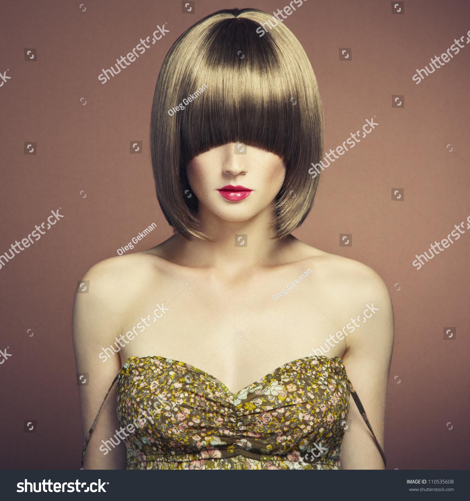 复古的发型-人物