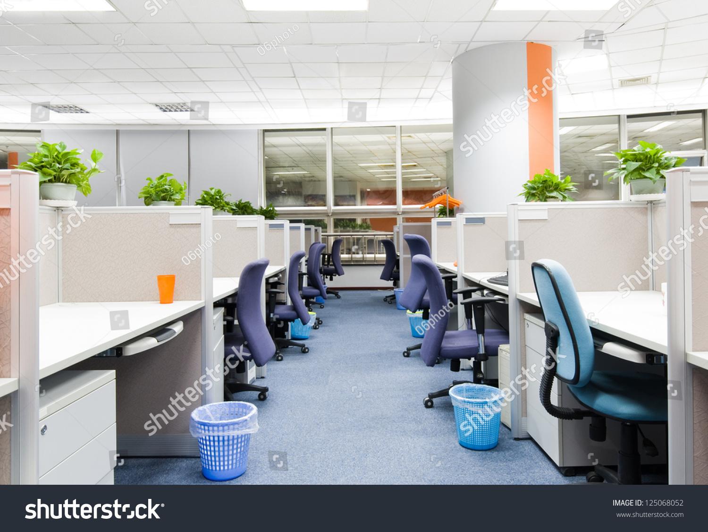 办公室工作的地方