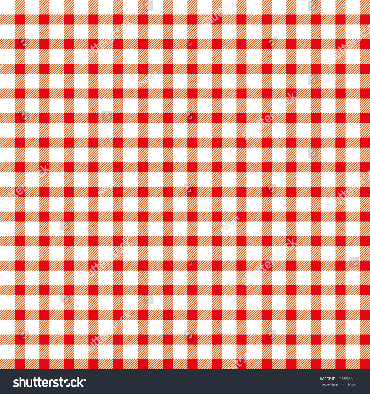 无缝复古白色红场桌布-背景/素材,复古风格-海洛创意