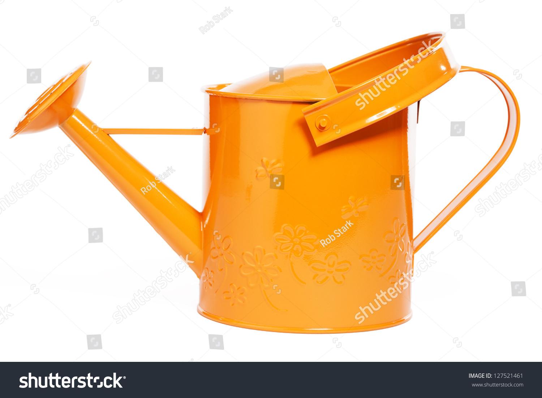 橙色购物图标素材