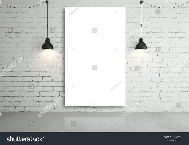 横向空白台历模板