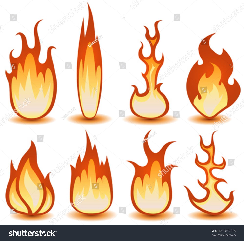 微信头像风景 火焰