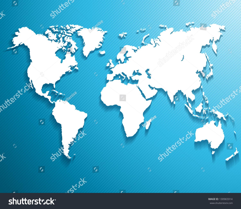 抽象背景,一张世界地图……矢量图-物体,科技-海洛()