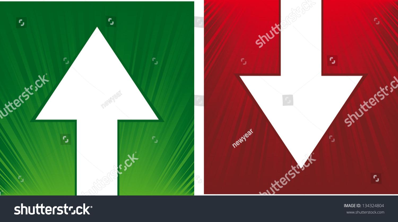 矢量向上和向下箭头-符号/标志,抽象-海洛创意()-中国