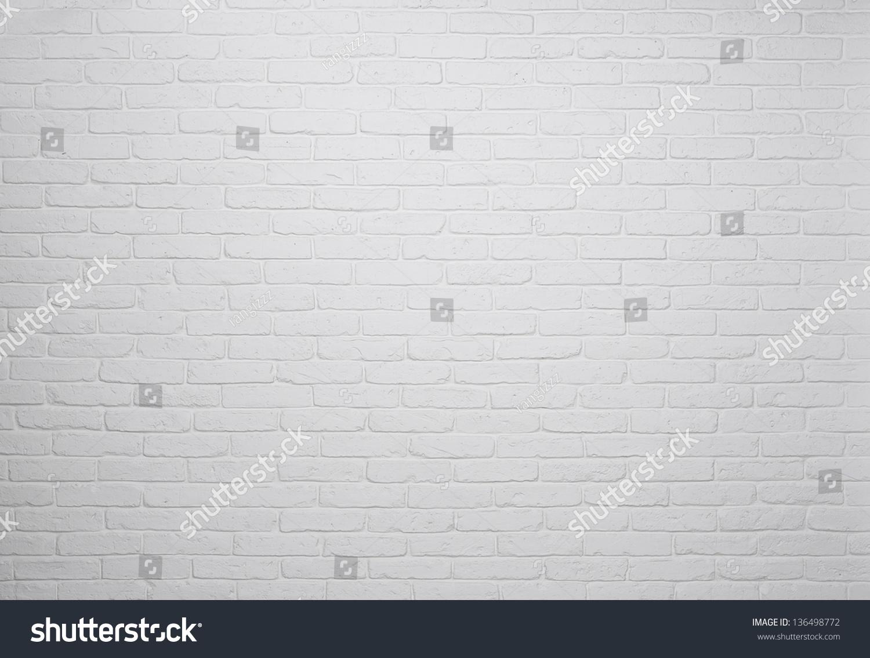 白色砖墙背景纹理