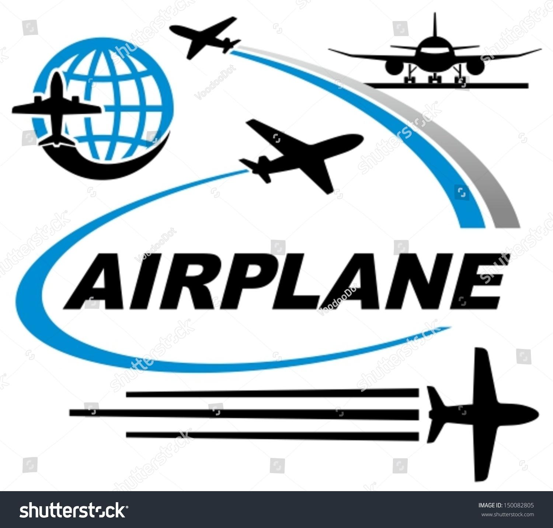 飞机图标-交通运输,符号/标志-海洛创意(hellorf)