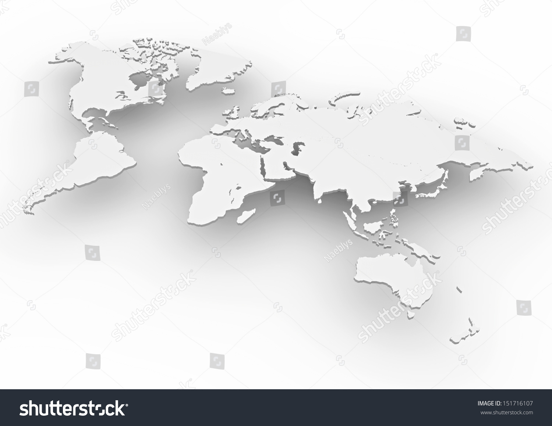 3 d世界地图-背景/素材,符号/标志-海洛创意(hellorf)