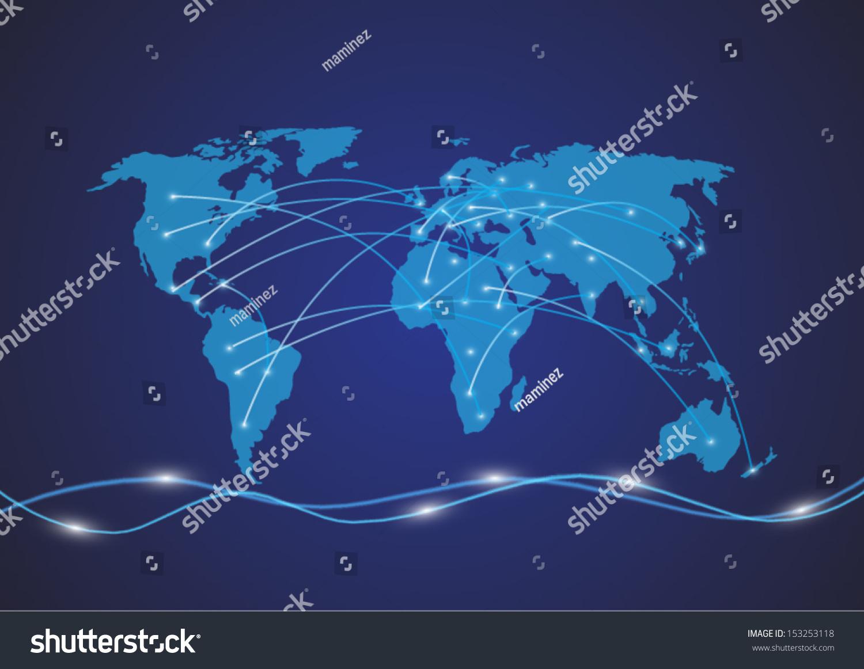 世界地图-背景/素材,商业/金融-海洛创意(hellorf)--.