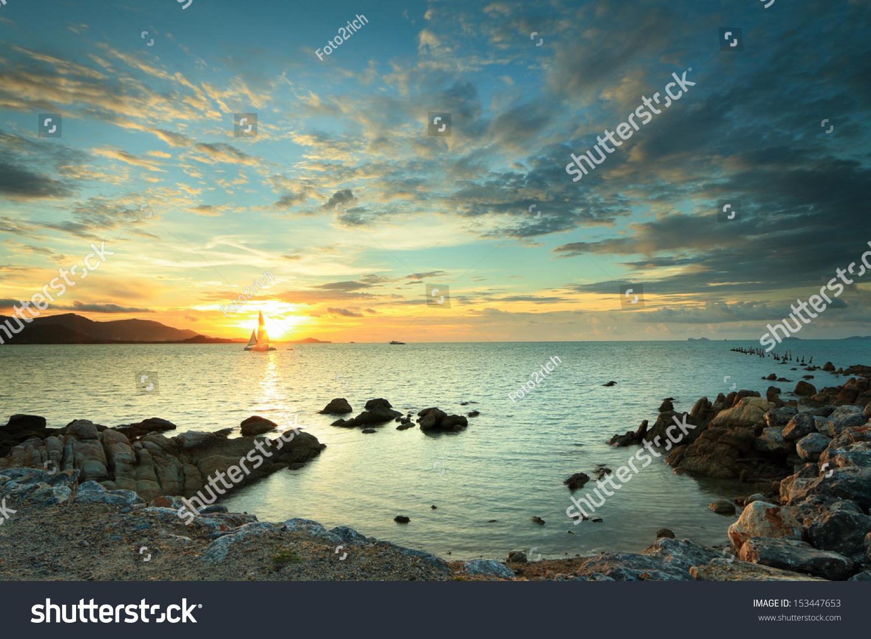 微信头像最美大海风景