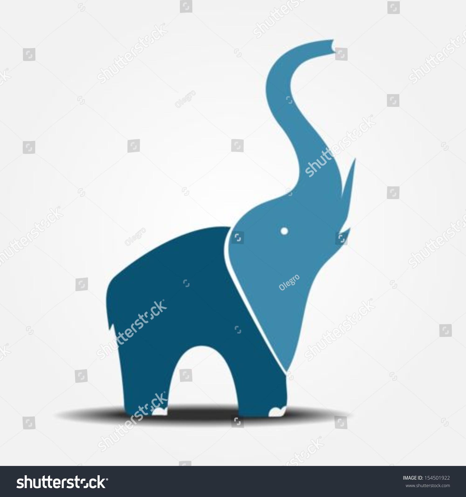 大象插图-动物/野生生物,符号/标志-海洛创意(hellorf