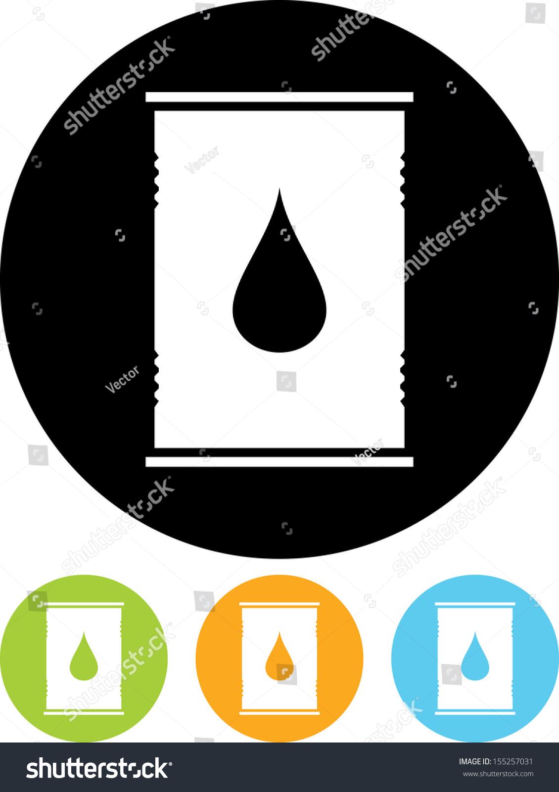油桶矢量图标-物体,符号/标志-海洛创意(hellorf)