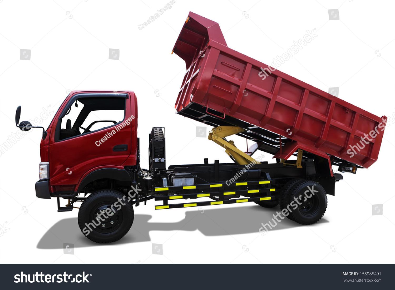 三节卡车ppt素材