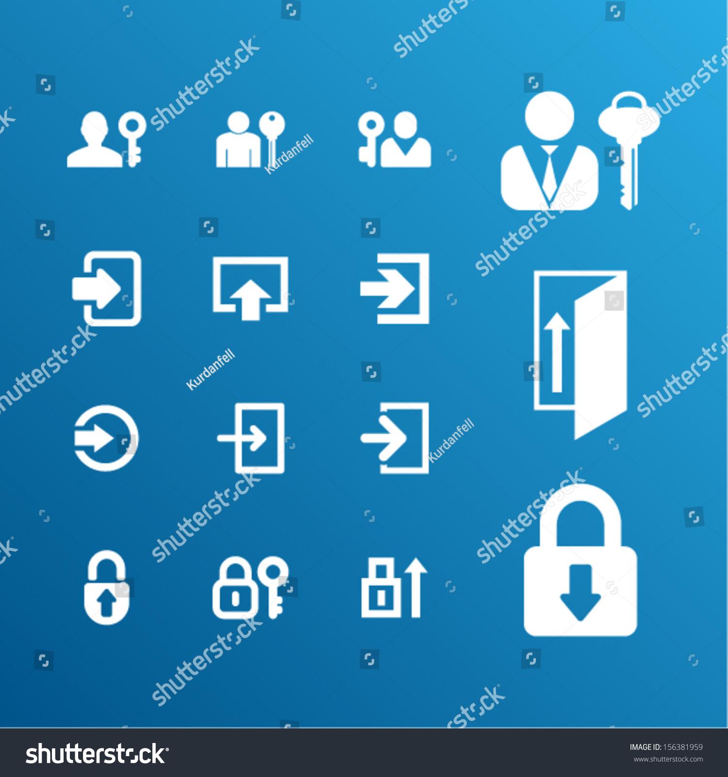 登录符号-科技,符号/标志-海洛创意(hellorf)-中国