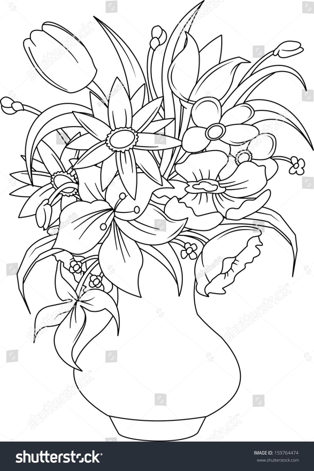 简笔画 手绘 线稿 1066_1600 竖版 竖屏