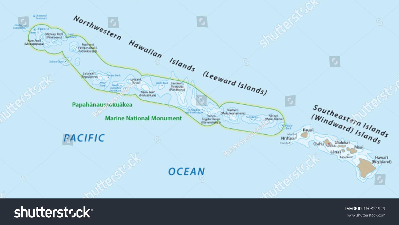夏威夷群岛地图-交通运输-海洛创意(hellorf)-中国