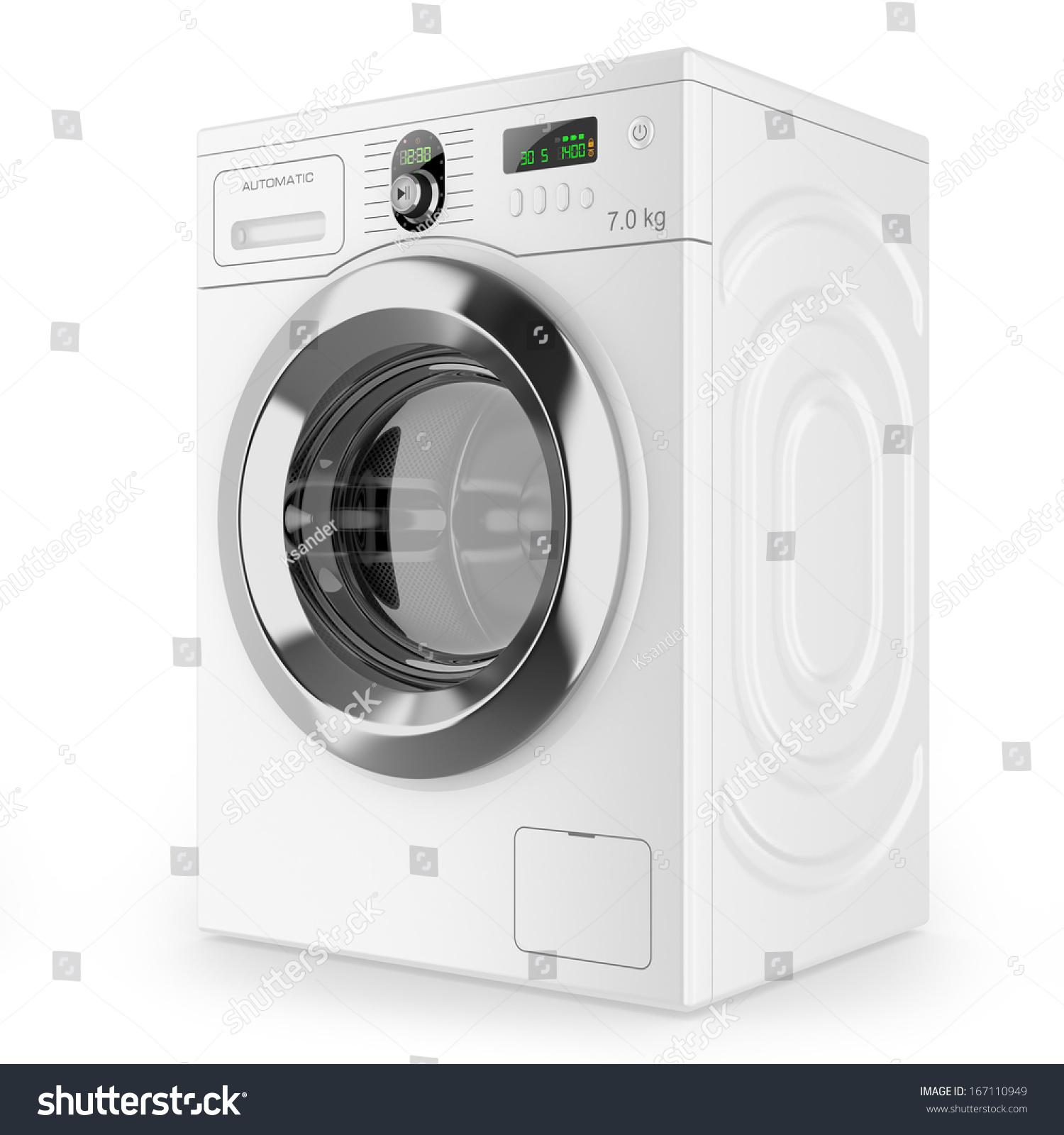 现代自动洗衣机-物体,科技-海洛创意(hellorf)-中国