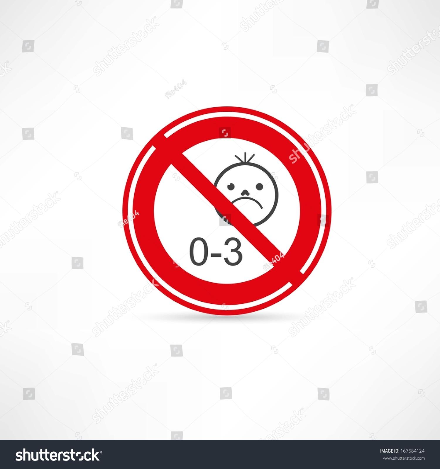 禁止使用儿童在三岁以下图标-人物,符号/标志-海洛()图片