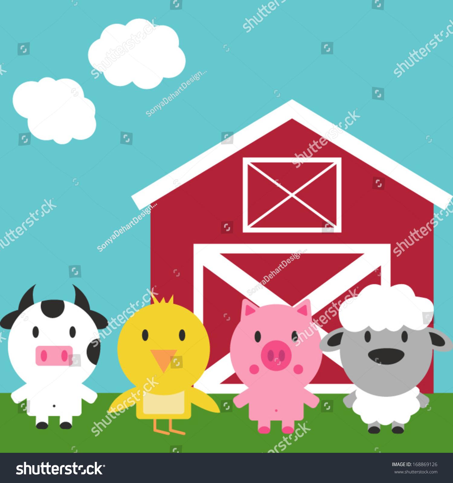 向量谷仓和农场动物-动物/野生生物