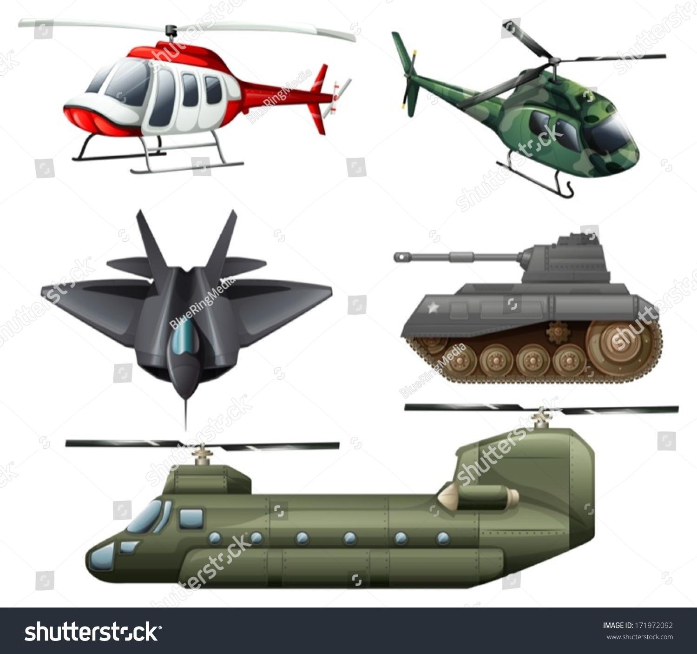 飞机大炮矢量图