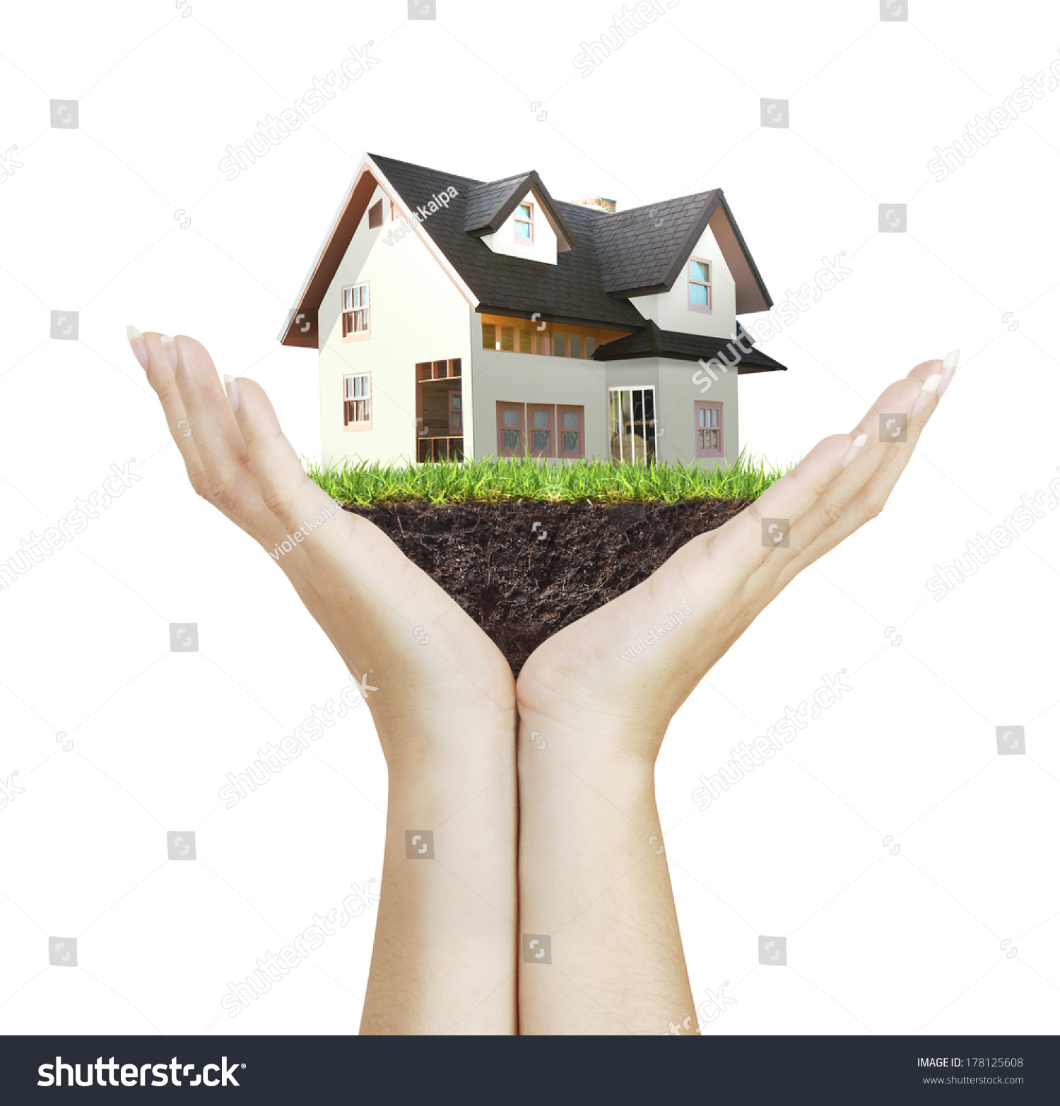 房子风景微信头像