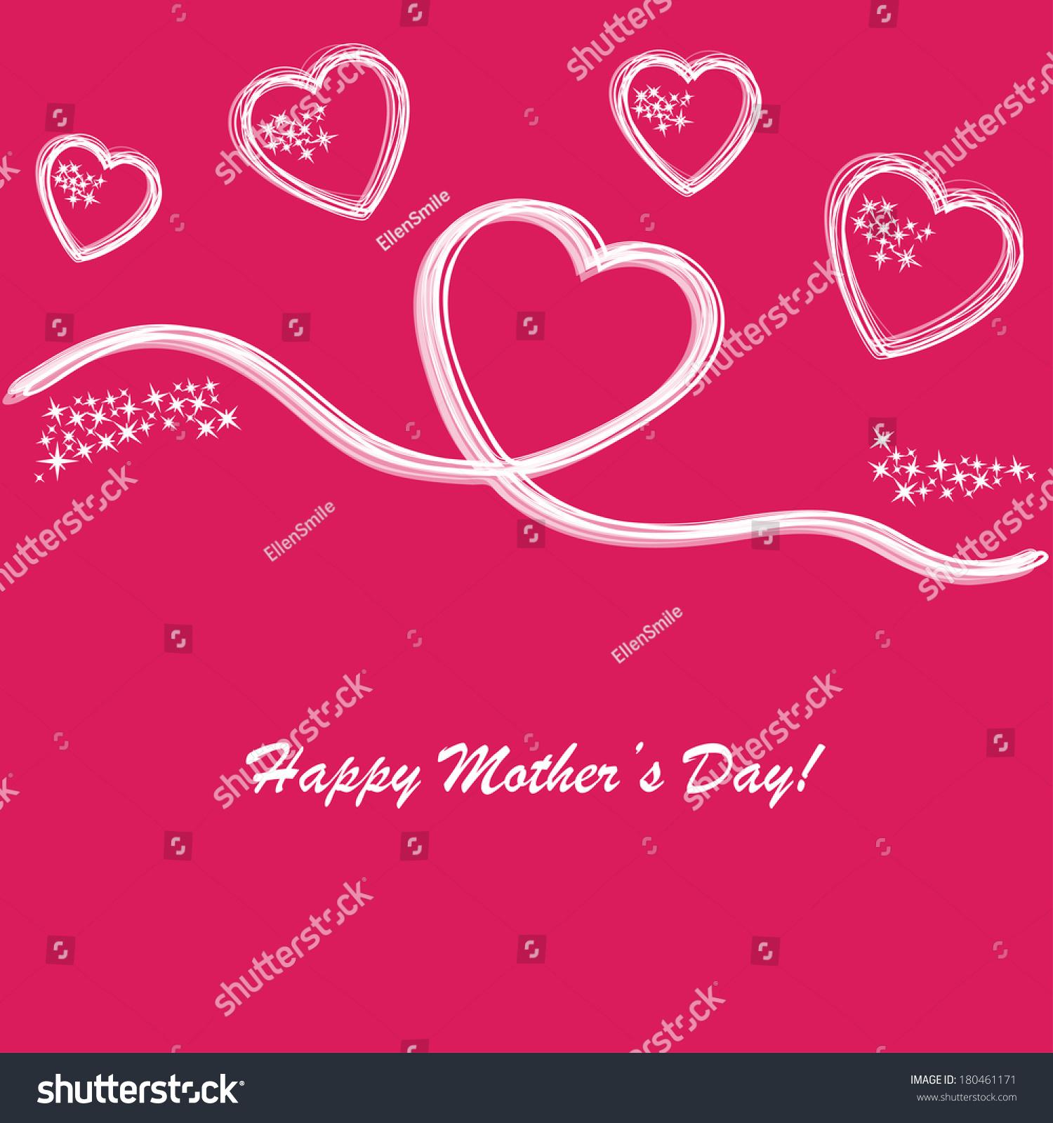 母亲节快乐的背景,在粉红色的电话-背景/素材,假期-()