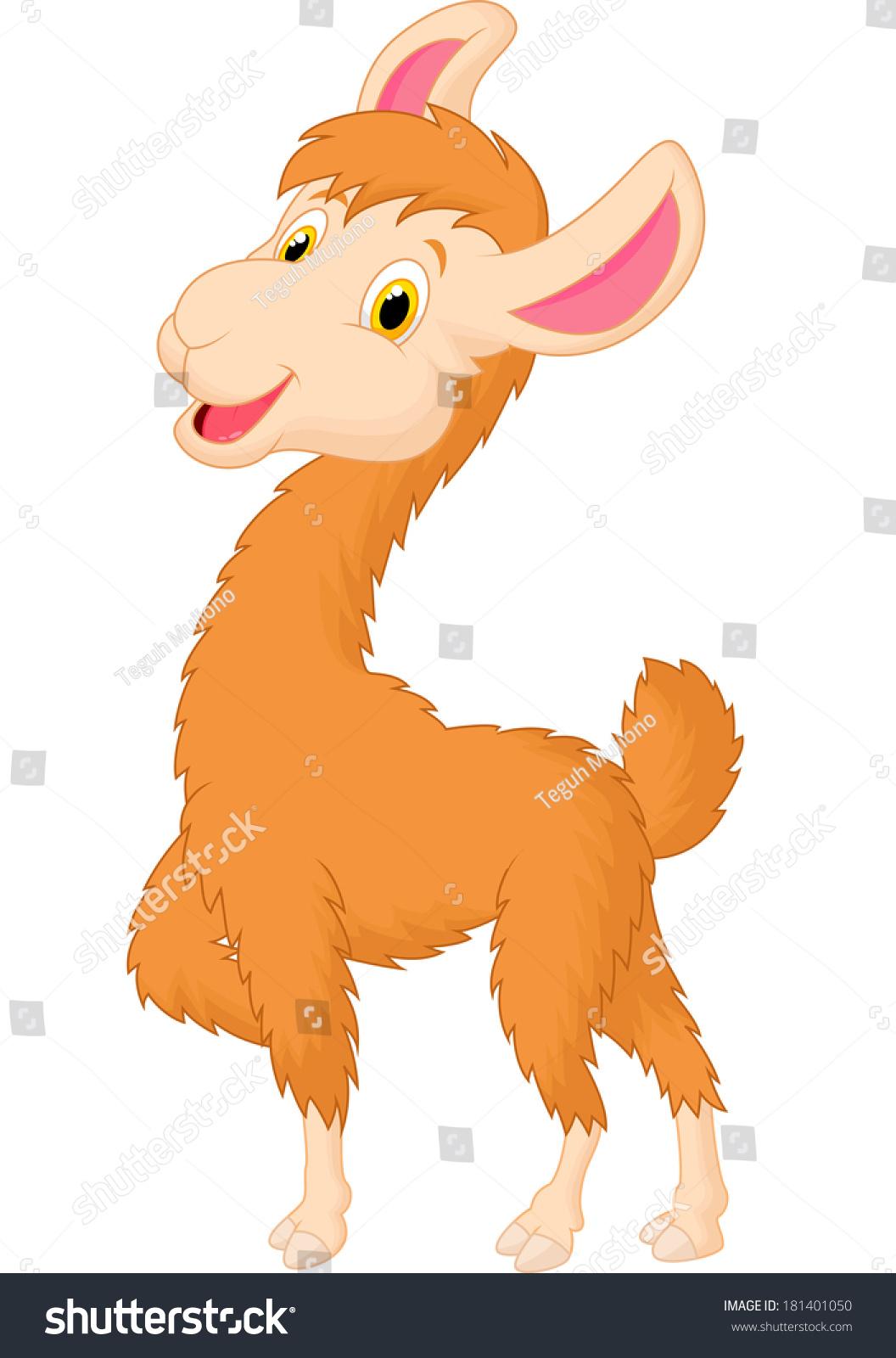 卡通可爱的骆驼-动物/野生生物-海洛创意(hellorf)
