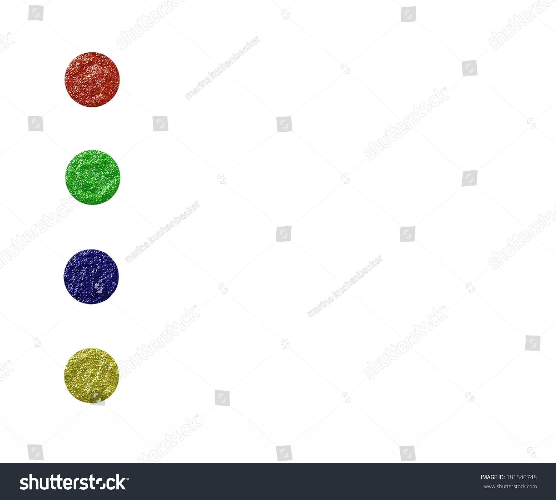 圆形抽象插图中的圆色-背景/素材-海洛创意(hellorf)