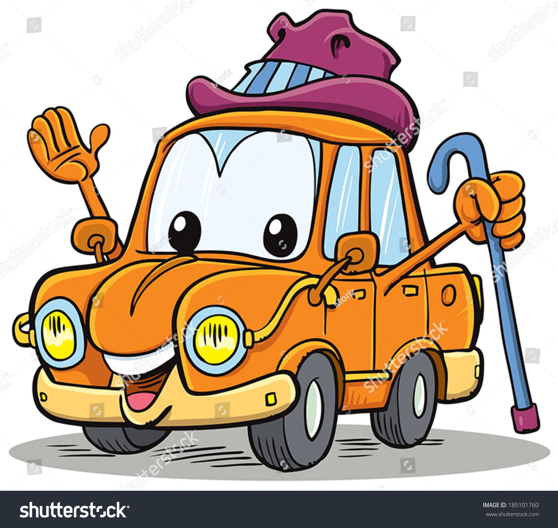卡通吉祥物,旧汽车-交通运输,科技-海洛创意(hellorf)图片
