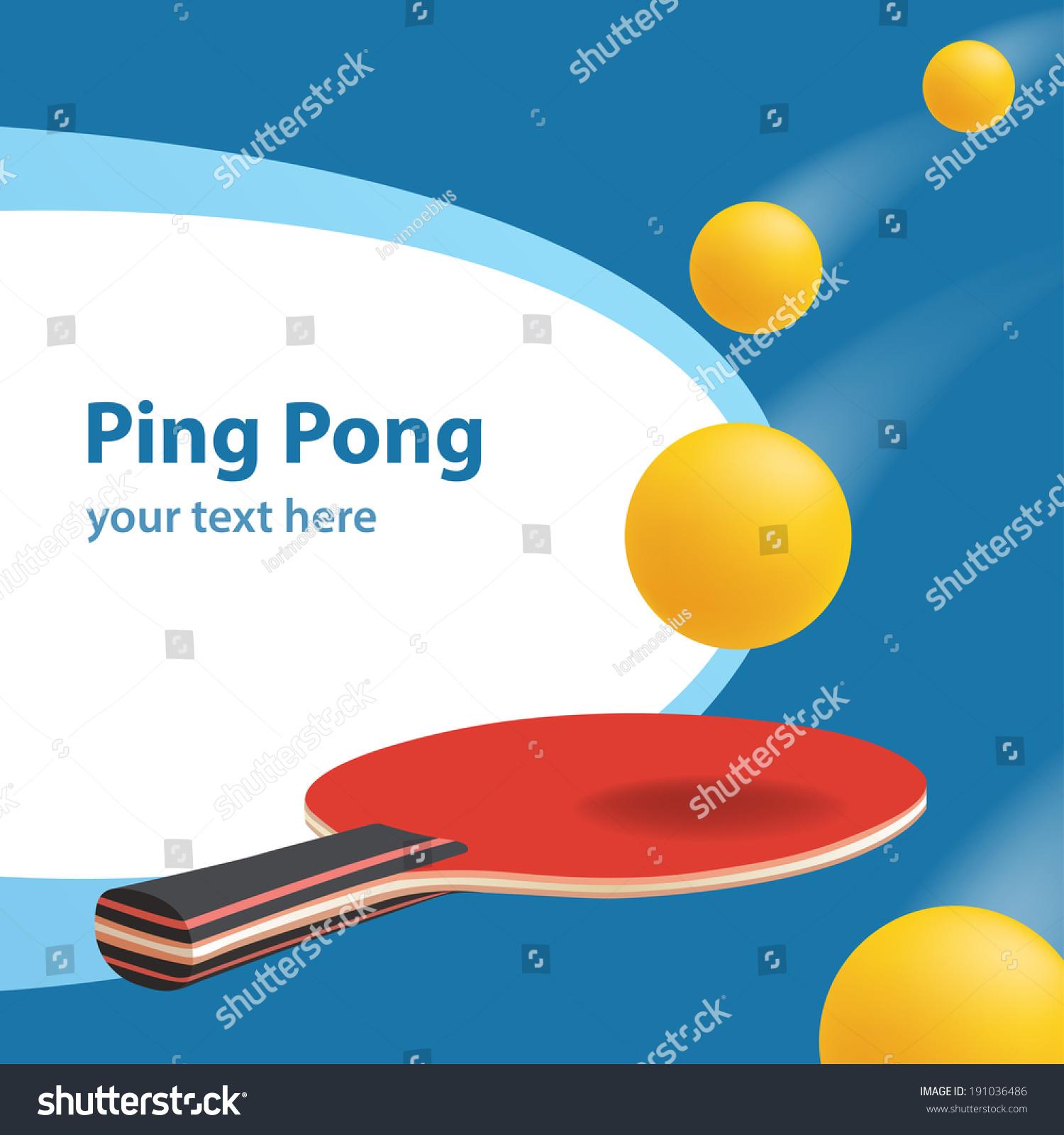 乒乓球向量横幅-运动/娱乐活动图片