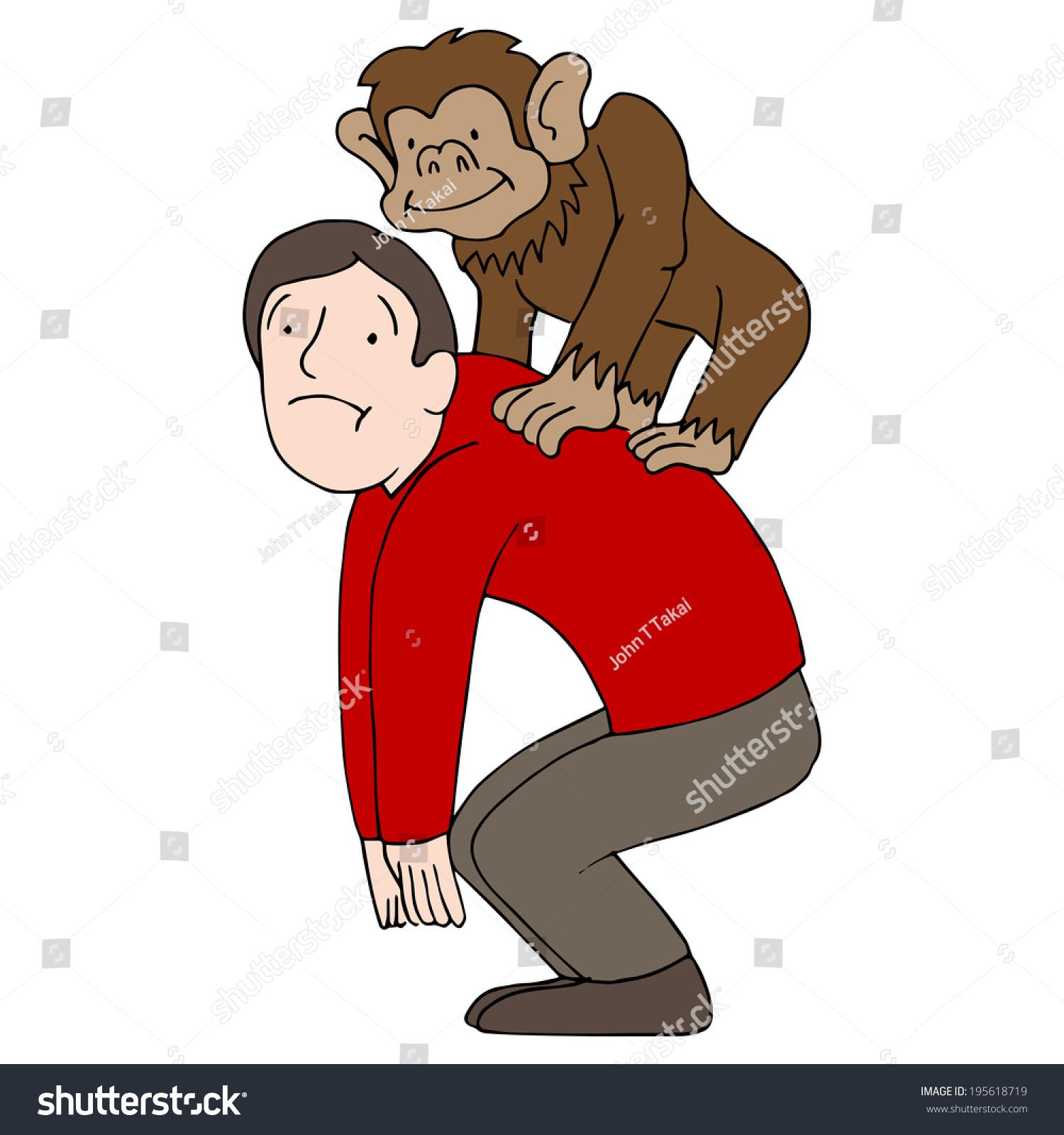 ppt素材 猴子