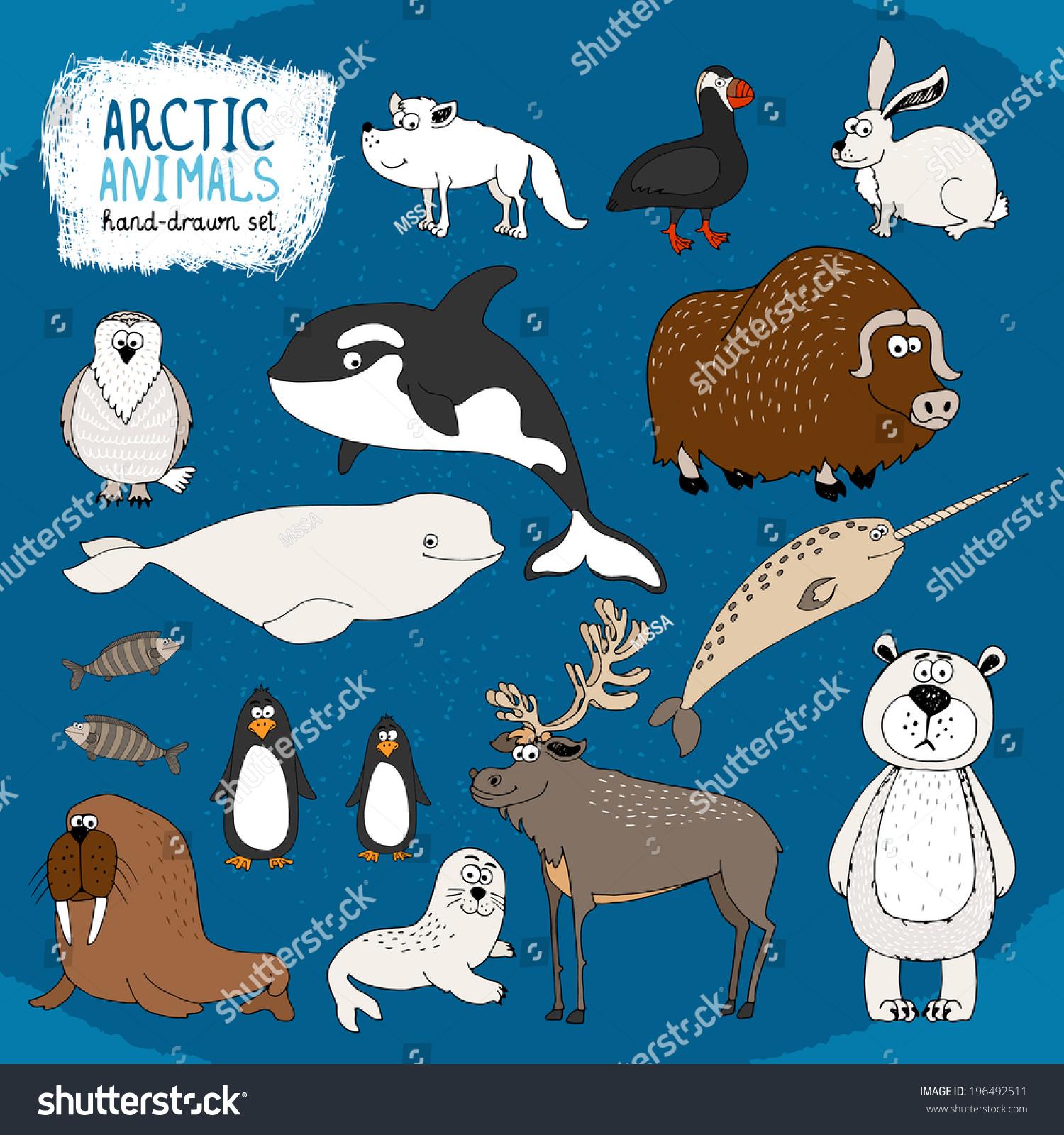 ppt可爱动物小图标