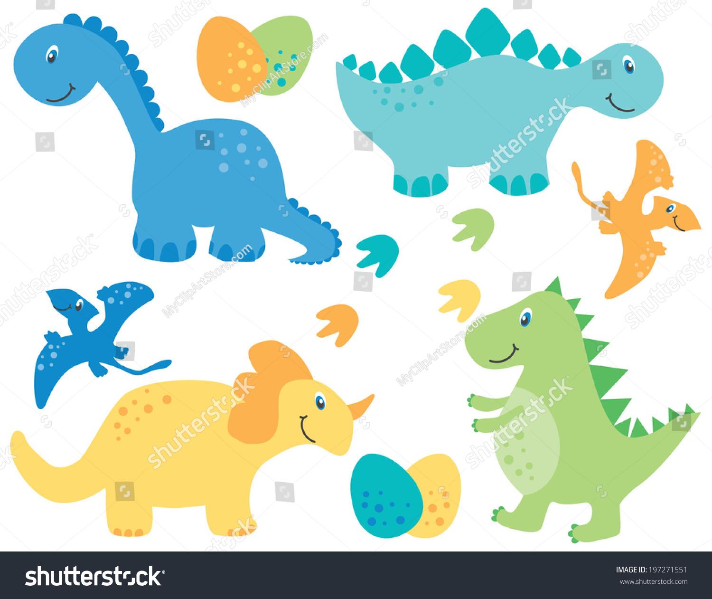可爱的恐龙 ppt 背景