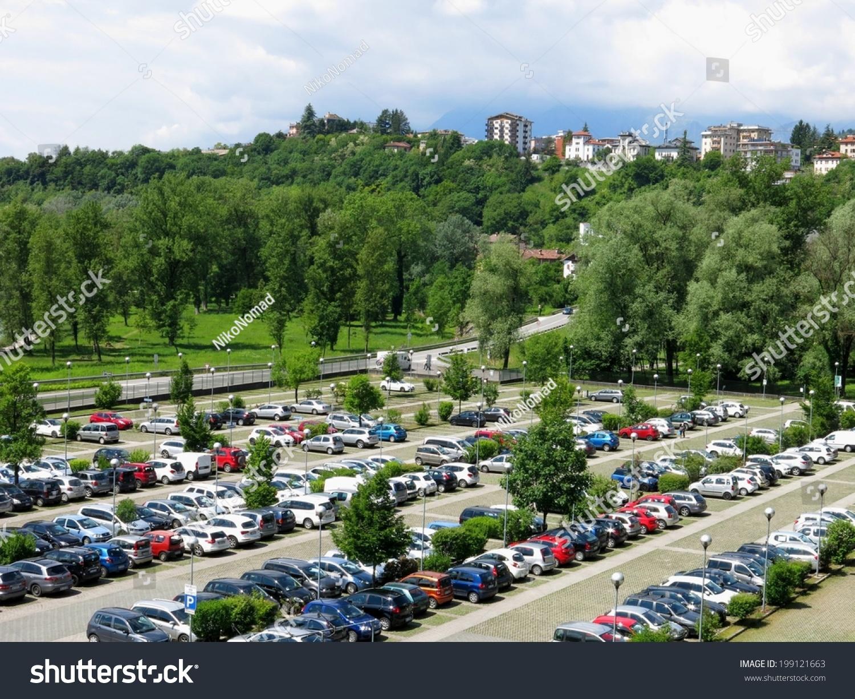 露天停车场,室外车辆,停车场.-公园/户外-海洛创意()