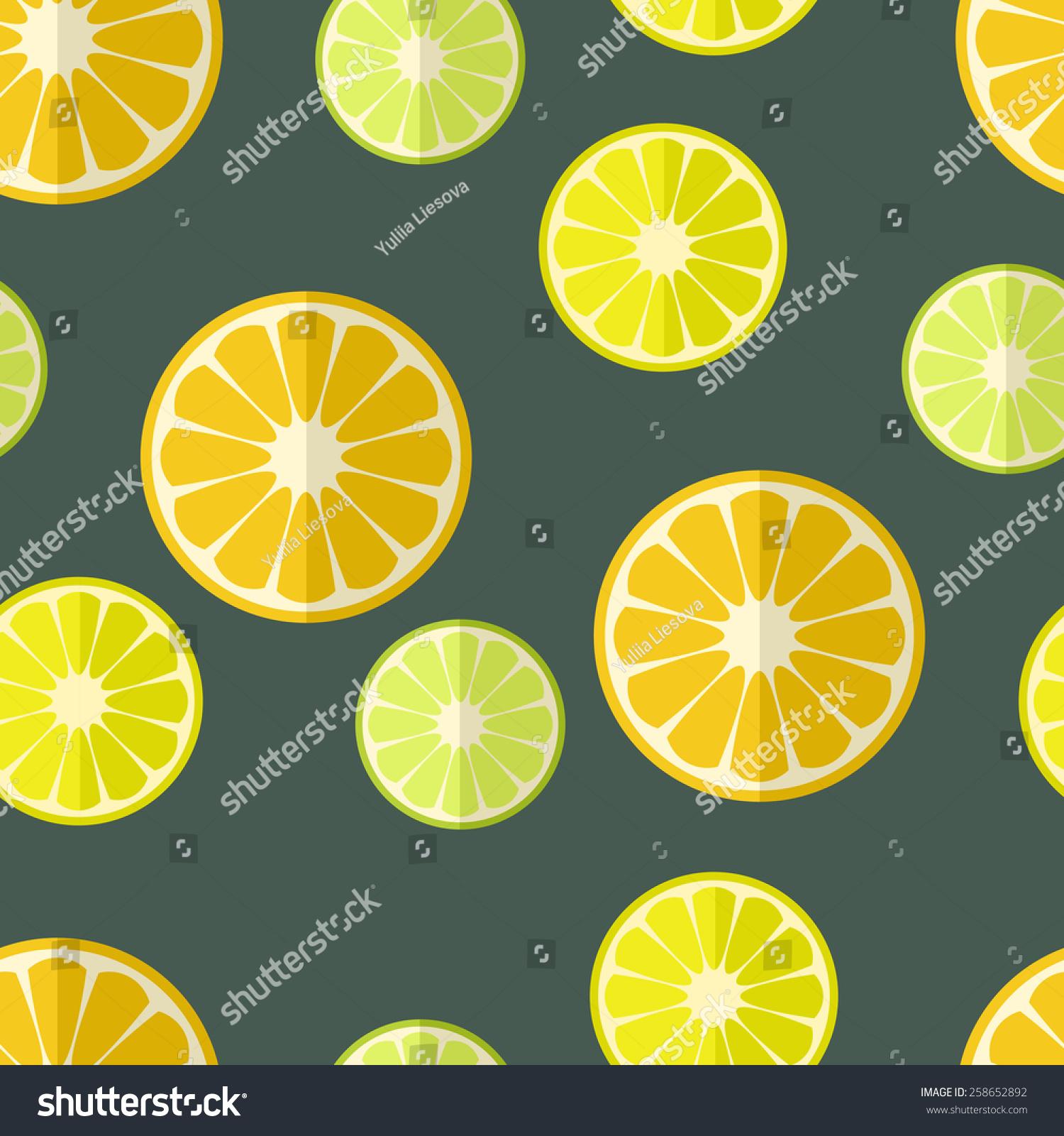 柑橘类水果在平面设计上的无缝结合-背景/素材,食品及图片