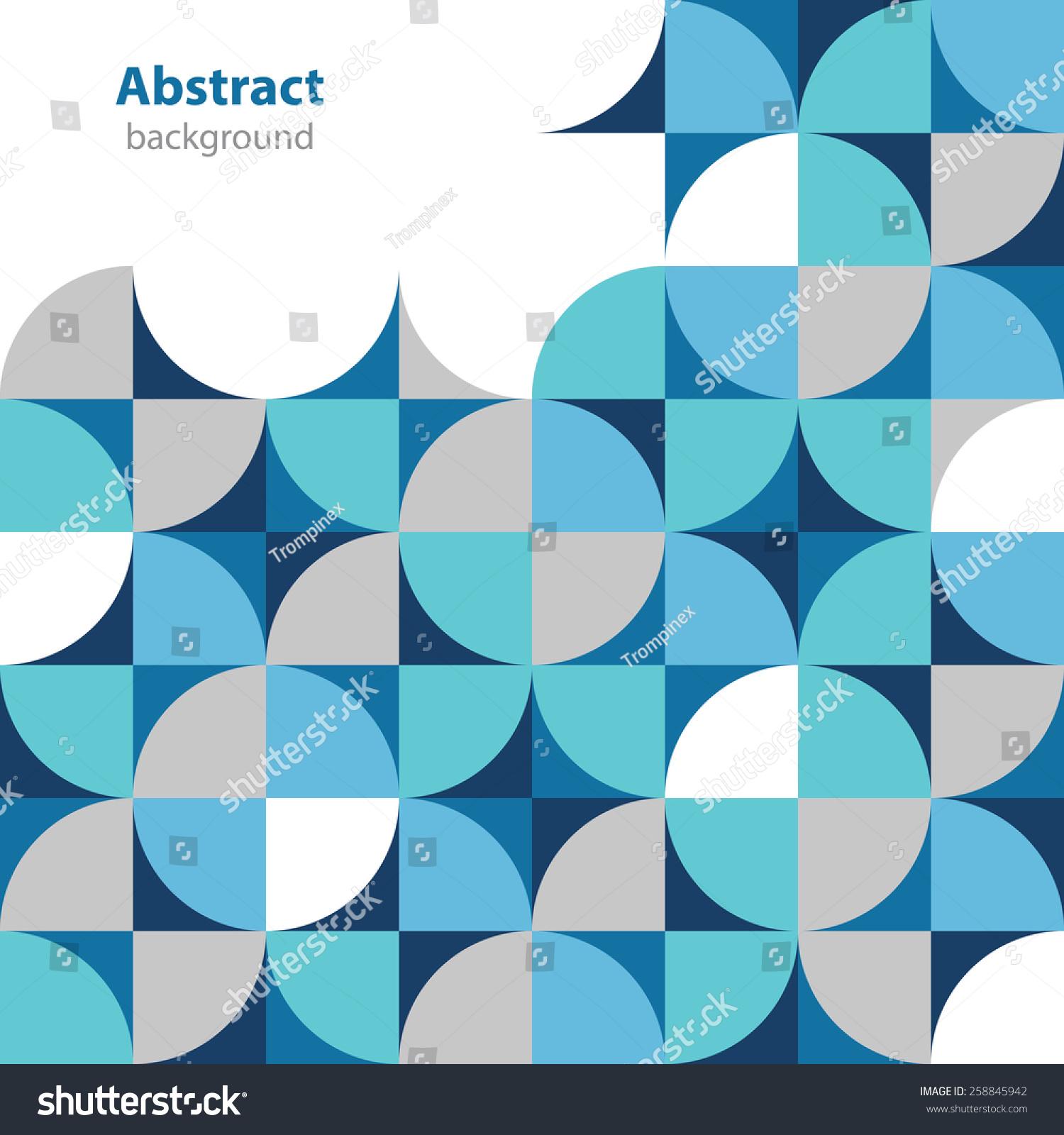抽象的装饰标签——不同的颜色——几何形状-背景
