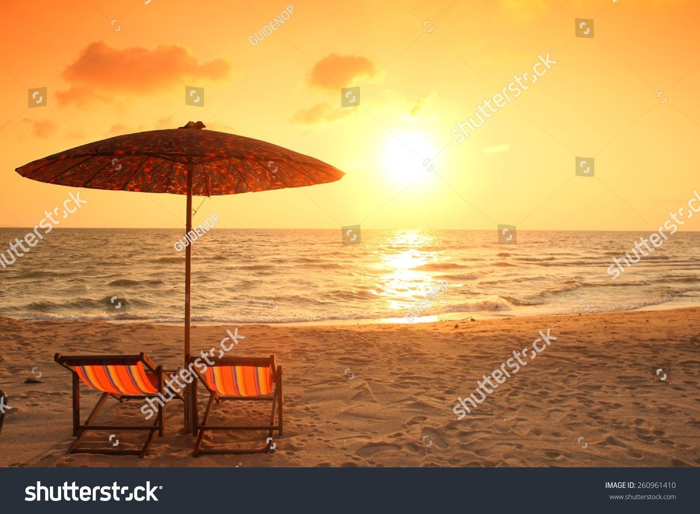 微信沙滩风景图片
