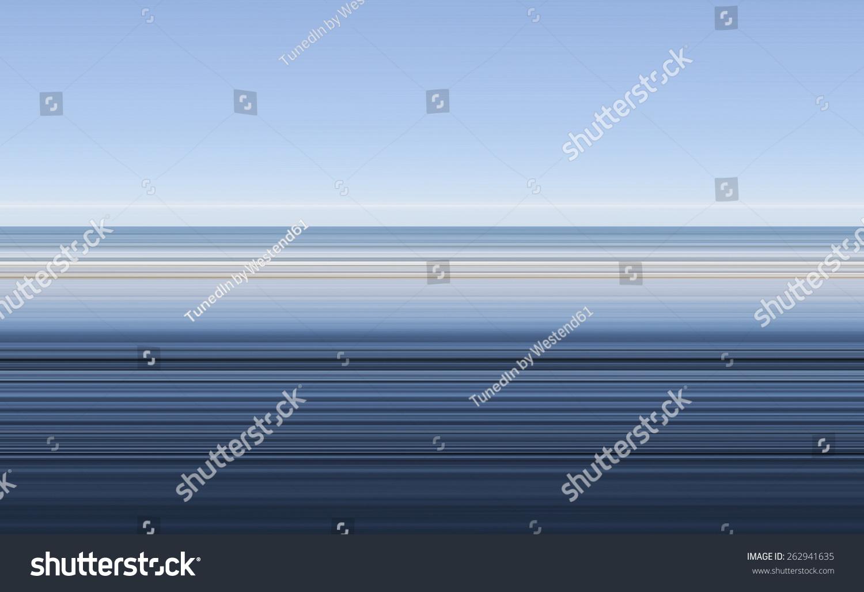 抽象的海洋,地平线,天空,条纹图片