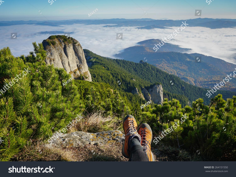 微信山自然风景头像