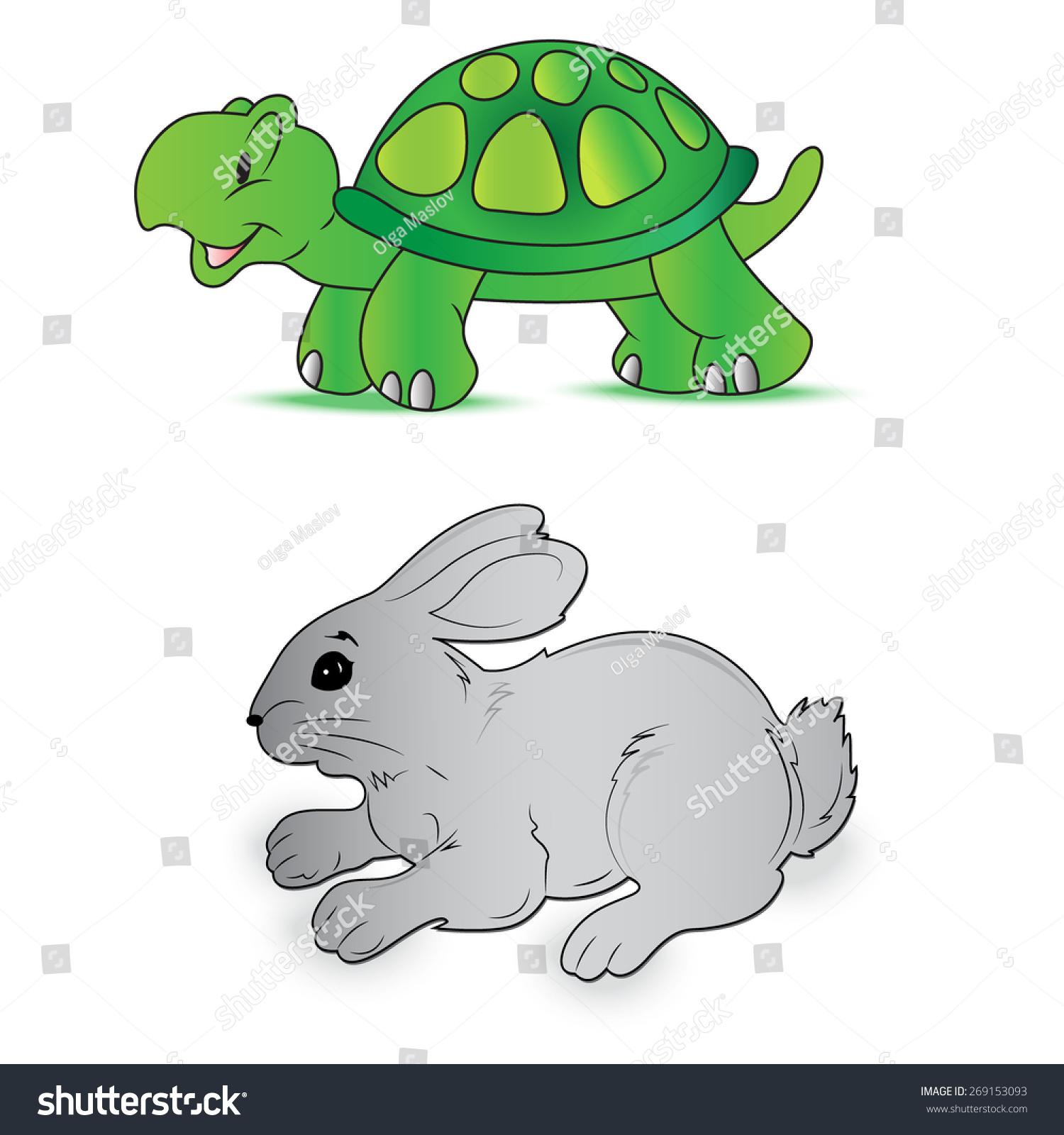 可爱小兔子屏保