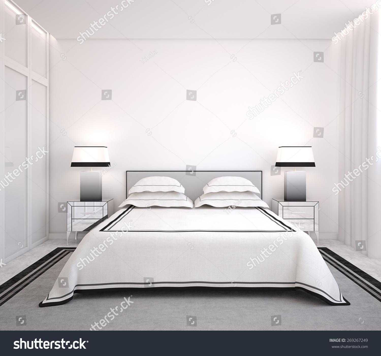 卧室正面效果图
