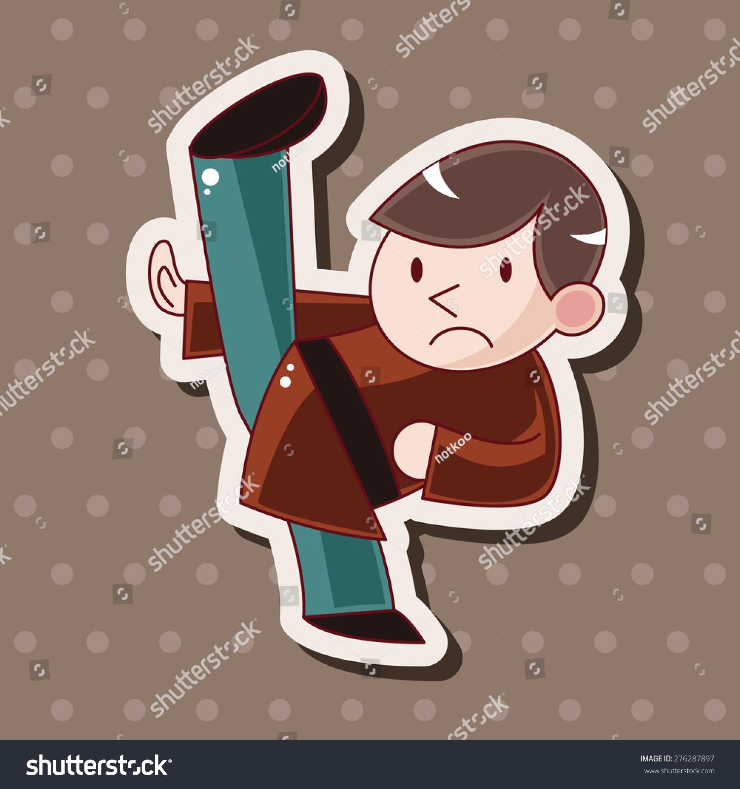 功夫,卡通贴纸图标-物体-海洛创意(hellorf)-中国图片