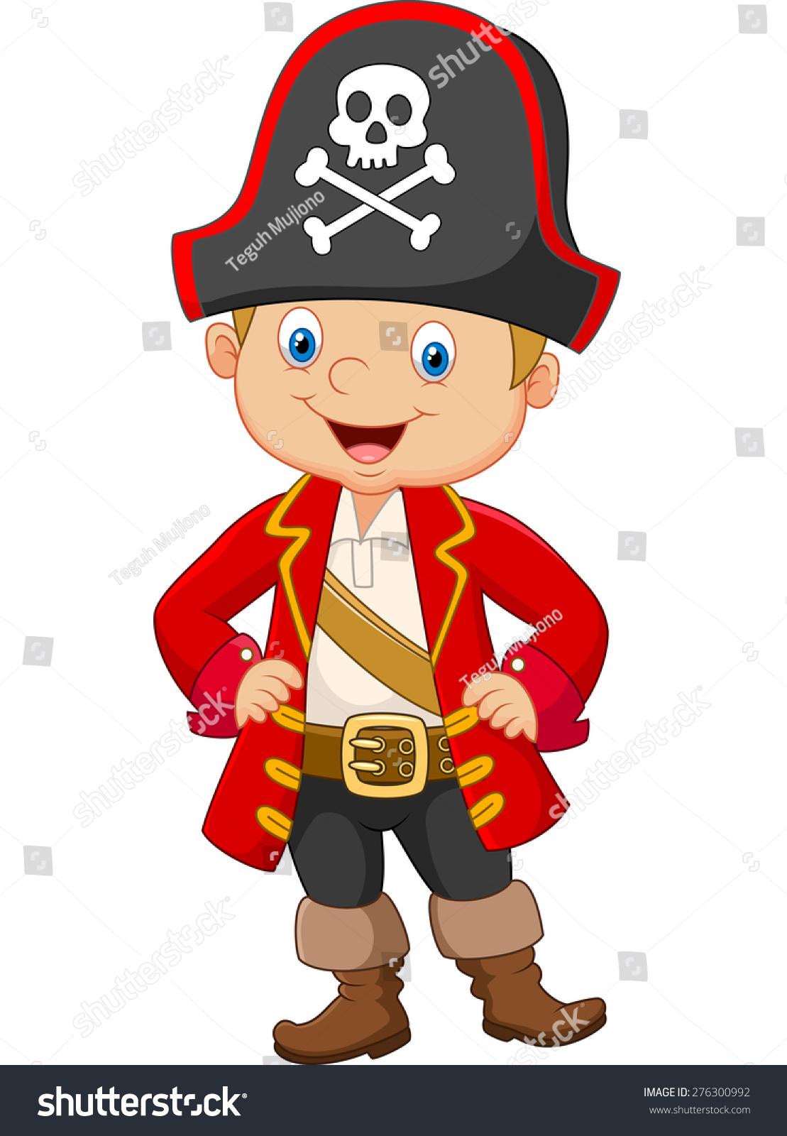 卡通小男孩海盗船长-人物-海洛创意(hellorf)-中国
