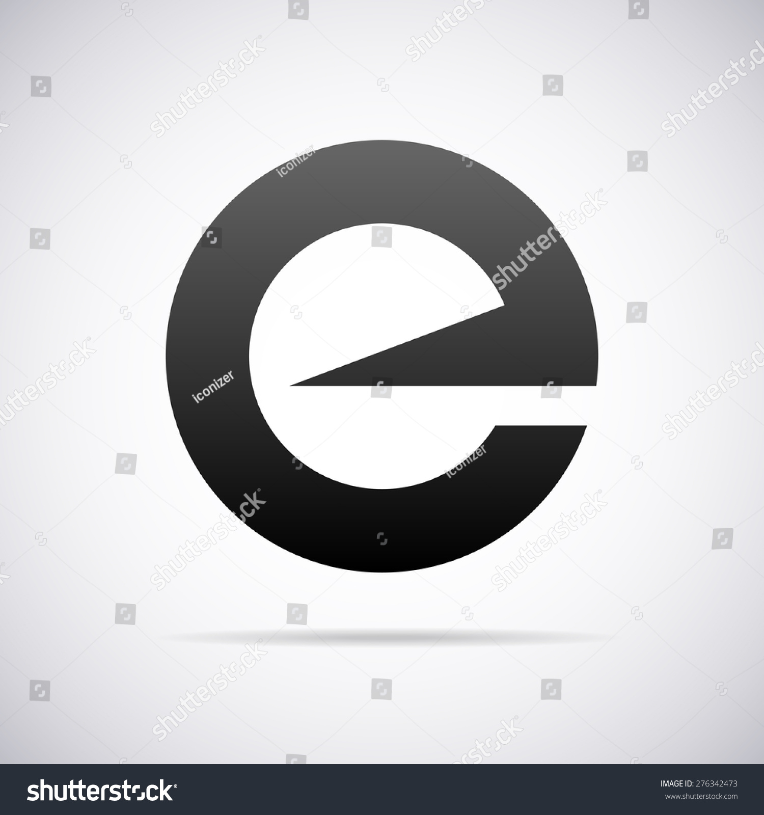 矢量標志字母e設計模板-符號/標志,抽象-海洛創意()-.