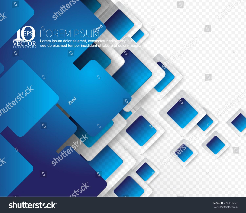 蓝色边框背景-背景