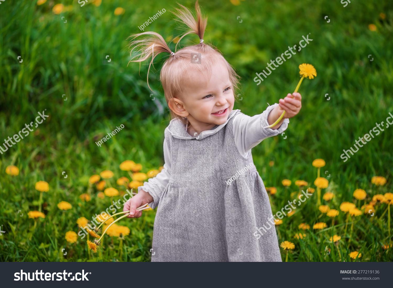 可爱的小女孩笑,欢喜快乐