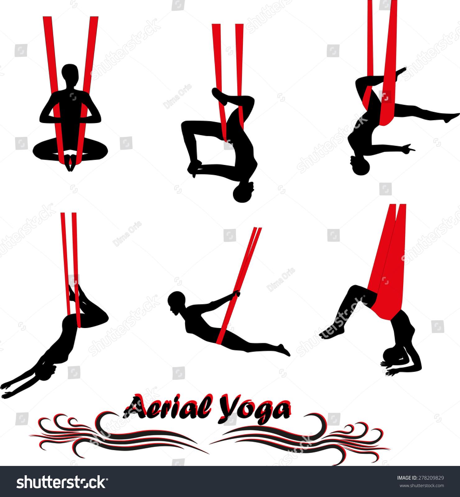 空中瑜伽-人物,运动/娱乐活动-海洛创意(hellorf)--.图片