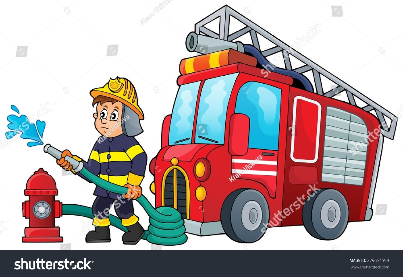 手绘海报 关于防火
